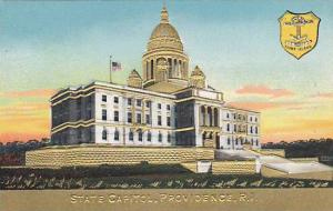 Coat Of Arms, State Capitol, Providence, Rhode Island, 1900-1910s