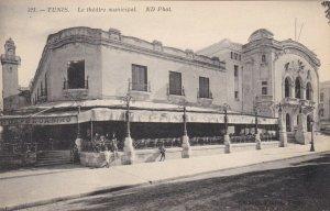 Tunisia Tunis Municipal Theatre sk1950a