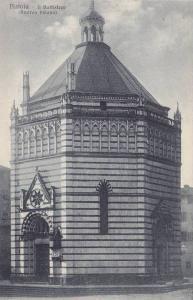 Il Battistero (Andrea Pisano), Pistoia (Tuscany), Italy, 1900-1910s