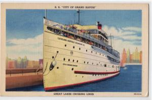 S.S. City of Grand Rapids, Great Lakes Crusing Liner
