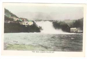 RP, The Dam, Ocean Falls, British Columbia, Canada, 1920-1940s