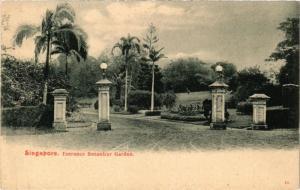 SINGAPORE PC Entrance Botanicer Garden (a1496)
