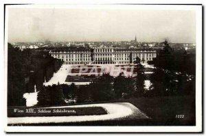 Old Postcard Wien Schloss Schonbrunn