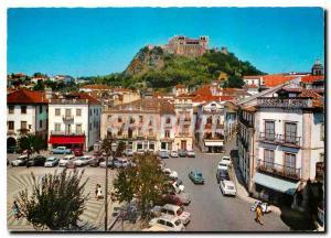 Postcard Modern Leiria Portugal Chateau