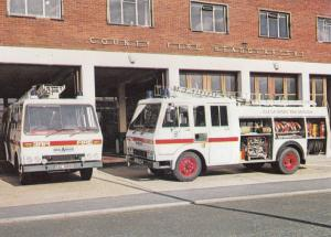 HCB Angus CSV Type 8 Water Tender Bedford Fire Engine Brigade Postcard