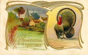 Greeting - Thanksgiving