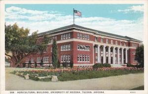 Arizona Tucson Agricultural Building University Of Arizona Curteich