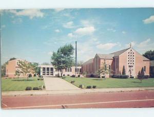Pre-1980 CHURCH SCENE Canton Ohio OH A8803