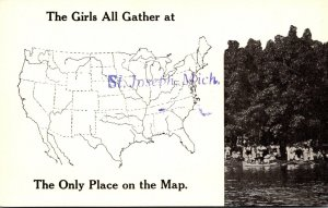 Michigan St Joseph The Girls All Gather At The Only Place On The Map