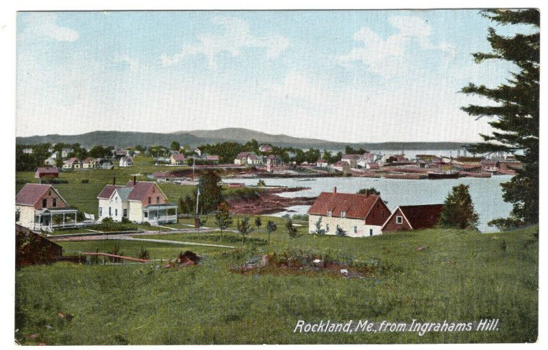 Rockland, Me, from Ingrahams Hill