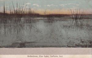 Reflections Pine Lake Laporte Indiana