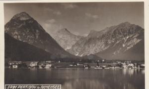 RP; PERTISAU A. ACHENSEE (Tirol), Austria, 1920-1940s; Panorama
