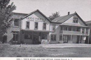 New York Cooks Falls George I Treyz Store and Post Office