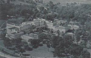 West Virginia White Sulphur Springs Aerial View Ashford General Hospital Albe...