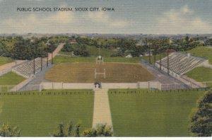 SIOUX CITY , Iowa , 1930-40s ; Public School Stadium