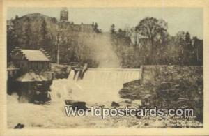 Sherbrooke, Quebec Canada, du Canada Power Dam  Power Dam