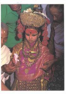 Kumari, The Living Goddess. NEPAL , 70-80s #2