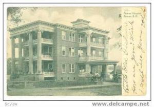 Nurses posed at Sumter South Carolina hospital, PU 1909
