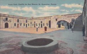 Florida St Augustine Court Yard Castillo de San Marcos