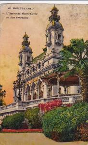 L'Opera De Monte-Carlo Vu Des Terrasses, Monte-Carlo, Monaco, 1900-1910s