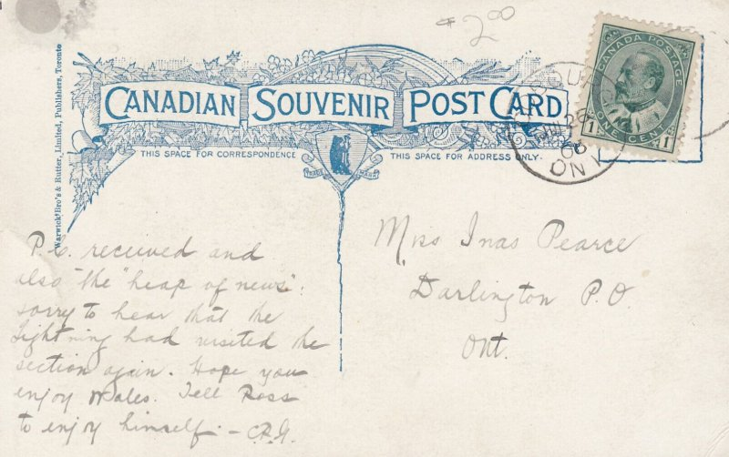 COBOURG, Ontario, Canada, PU-1906; Town Hall