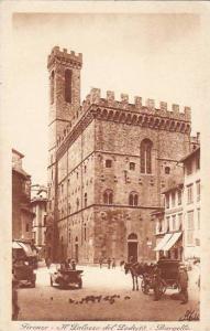 Italy Firenze Il Palazzo del Podesta Bargello