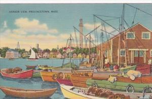 Massachusetts Cape Cod Provincetown Harbor View