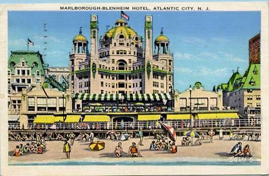 NJ - Atlantic City, Marlborough-Blenheim Hotel