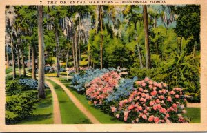 Florida Jacksonville The Oriental Gardens 1939 Curteich