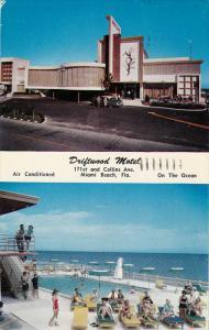 Swimming Pool, Driftwood Motel, MIAMI BEACH, Florida, 40-60´