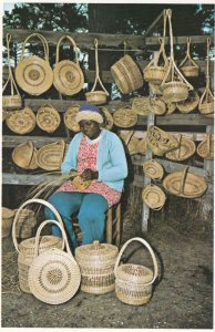 CHARLESTON , South Carolina , 1950-70s ; Basketmaker