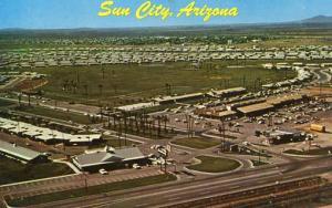 AZ - Sun City. Aerial View