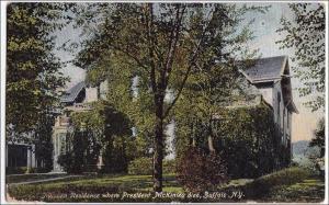 NY - Buffalo. Milburn Residence Where President McKinley Died