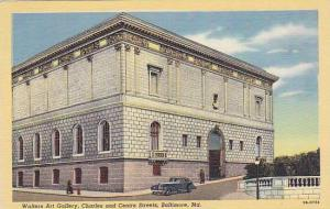 Walters Art Gallery, Charles & Centre Streets, Baltimore, Maryland, 1930-1940s