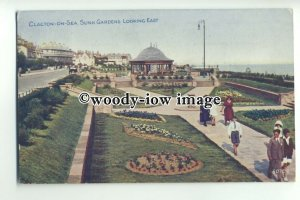 tp9443 - Essex - Looking East across the Sunk Gardens, Clacton-on-Sea - postcard