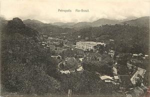 Real Photo Postcard Petropolis Rio Brasil Brazil Rio De Janeiro 1913