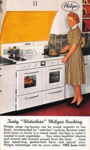 Philgas Range Stove Waterless Cooking Economy Kitchen Postcard