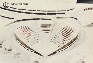 MONTREAL, Quebec, Canada, 1976; Miniature work of the Olympic Park # 1