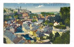 Faubourg Du Grund Et Ville Haute, Luxembourg, 1900-1910s