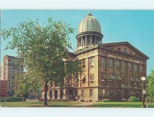 Pre-1980 COURTHOUSE SCENE Springfield Illinois IL AE9779