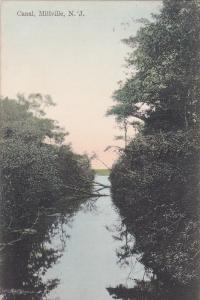 Canal, Millville, New Jersey, PU-1910