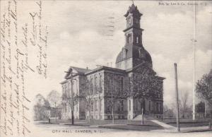 New Jersey Camden City Hall 1905