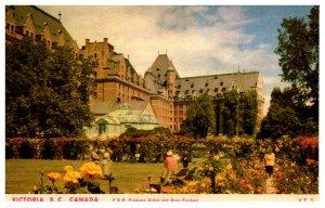Canada  Victoria C.P.R. Empress Hotel and Rose garden