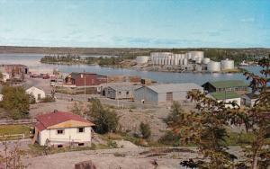 Joliffe Island with Fuel Storage Tanks , YELLOWKNIFE , N.W.T., 50-60s