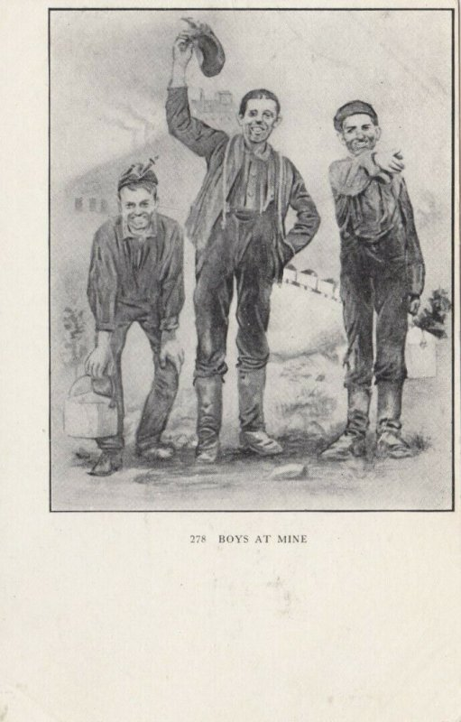 Boys at Mine , Pennsylvania , 1901-07