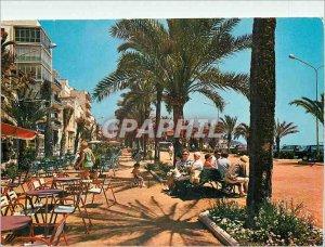 Postcard Modern Paseo Costa Brava