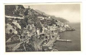 RP: Amalfi - Panorama , Italy , 30-40s