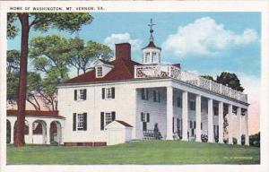 Home Of Washington Mount Vernon Virginia