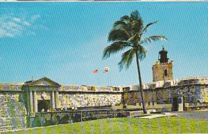 Puerto Rico San Juan National Historic Site Masonry Bridge