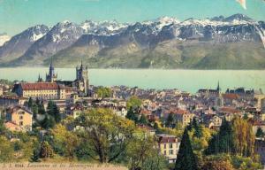 Switzerland Lausanne et les Montagnes de la Savoie 02.84